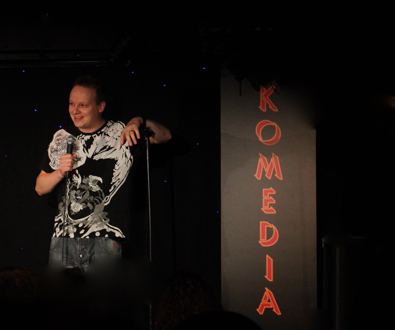 Krater Comedy Club - Stephen Grant- Blog