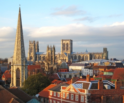 york-walls-city-view